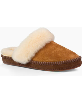 UGG Women's Chestnut Aira Slippers , Chestnut, hi-res