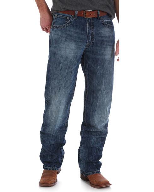 Wrangler 20X Men's No. 33 Extreme Relaxed Fit Jeans - Big & Tall, Indigo, hi-res