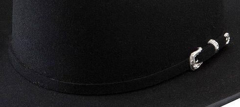 Stetson Lariat 5X Fur Felt Cowboy Hat, Black, hi-res