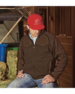 STS Ranchwear Men's Carson Convertible Vest/Jacket, Brown, hi-res
