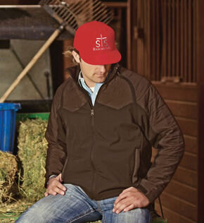 STS Ranchwear Men's Carson Convertible Vest/Jacket - 4XL, Brown, hi-res