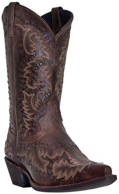 Laredo Midnight Rider Cowboy Boots - Snip Toe, , hi-res