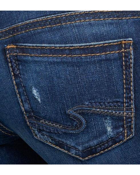 Silver Women's Indigo Suki Jeans - Boot Cut - Plus Size, Indigo, hi-res