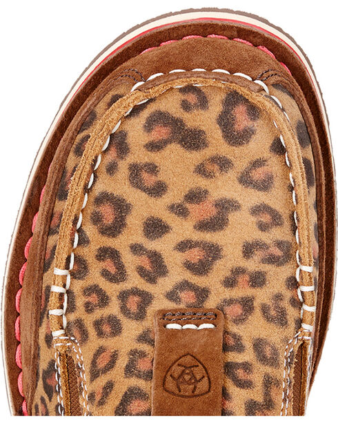 Ariat Women's Leopard Print Cruiser Shoes , Earth, hi-res