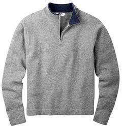 Mountain Khakis Men's Heather Grey Lodge Crewneck Sweater , Hthr Grey, hi-res