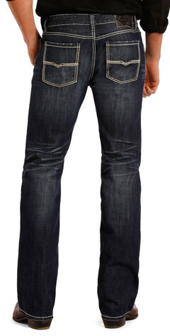 Rock and Roll Cowboy Pistol Dark Wash Jeans - Straight Leg , , hi-res