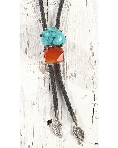 Cowgirl Confetti Women's Sadie Stone Bolo Necklace, Black, hi-res