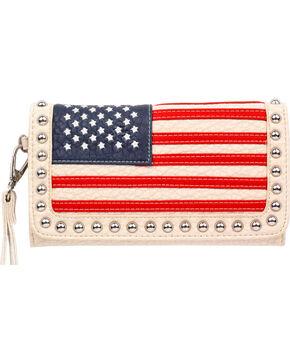 Blazin Roxx Women's American Flag Clutch , Multi, hi-res