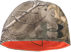 Under Armour Men's Camo Reversible Fleece Beanie Cap, Camouflage, hi-res