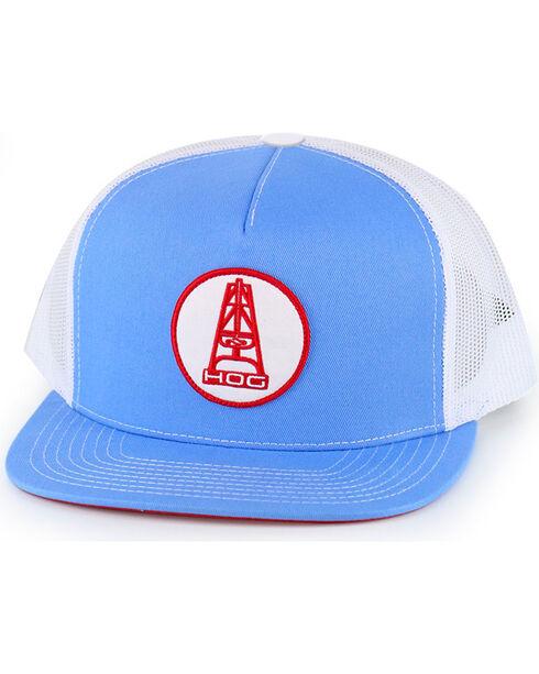 Hooey Men's Light Blue Mesh Trucker Cap , Light Blue, hi-res
