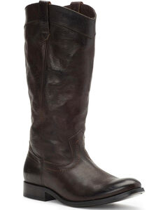 Frye Women's Smoke Melissa Pull On Boots - Round Toe, Grey, hi-res