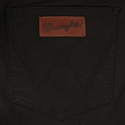 Wrangler Men's Retro Slim Fit Straight Leg Jeans, Black, hi-res