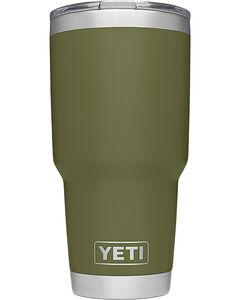Yeti Olive Green 30oz. Sliding Lid Rambler , Olive, hi-res