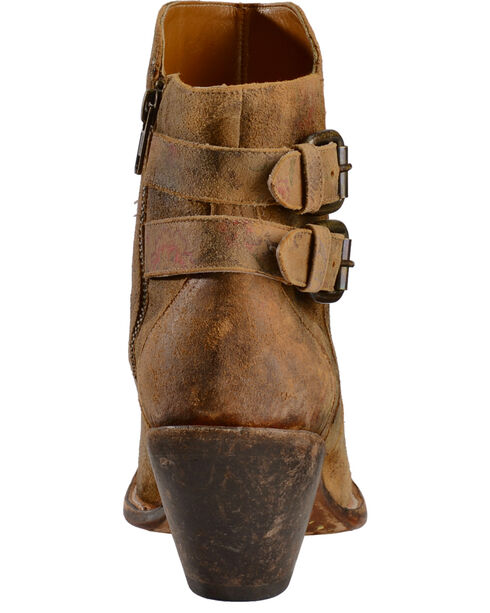 Lucchese Handmade 1883 Women's Catalina Booties, Brown, hi-res