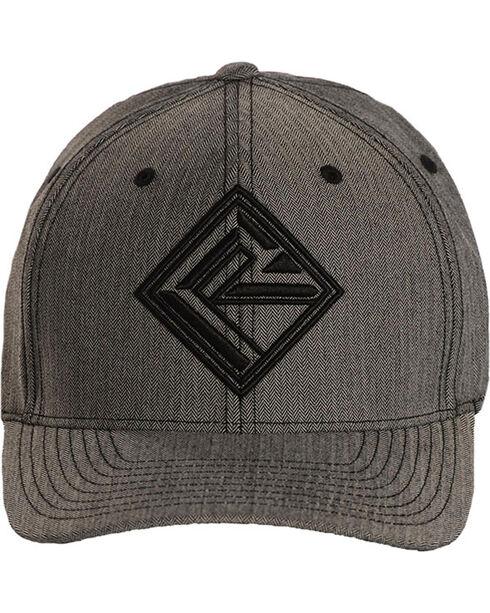 Rock & Roll Denim Men's Logo Baseball Cap, Grey, hi-res