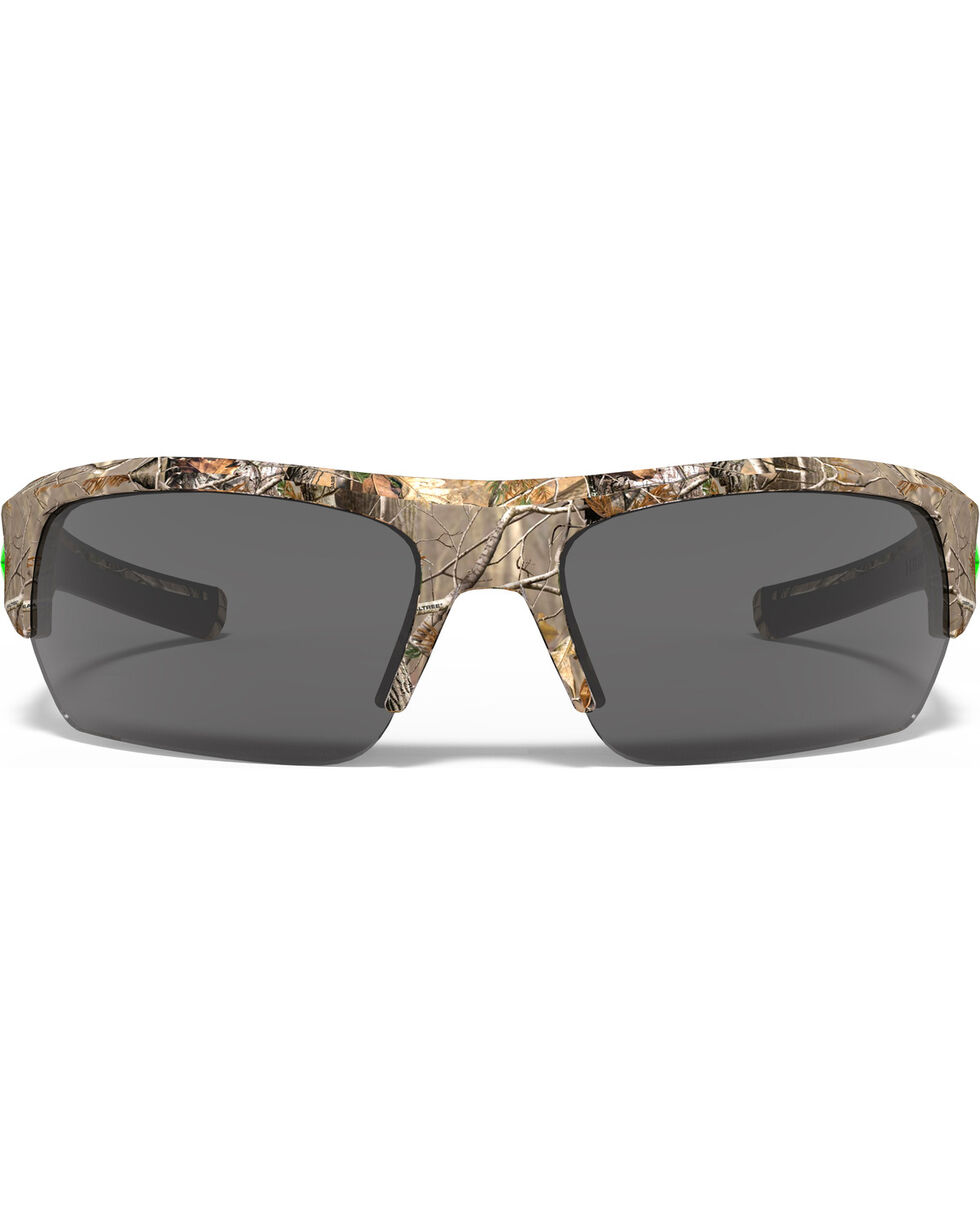 Under Armour Men's Realtree Camo UA Big Shot Sunglasses , Camouflage, hi-res