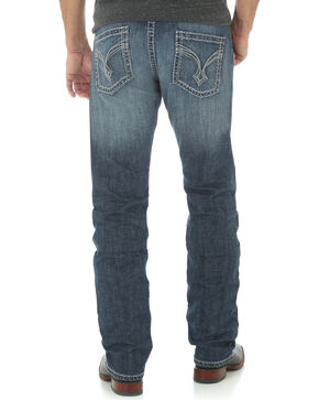 Wrangler Rock 47 Denim Slim Fit Alternative Jeans - Straight Leg , Indigo, hi-res
