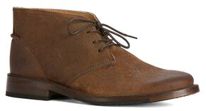 Frye Men's Oliver Chukka Shoes, Brown, hi-res