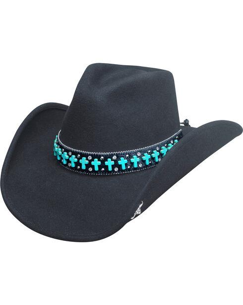 Bullhide Goin' Someplace Special Hat, Black, hi-res