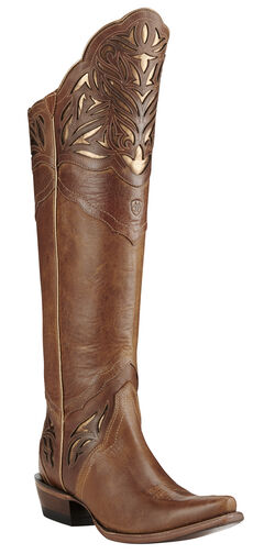 Ariat Chaparral Brilliant Buff Cowgirl Boots - Snip Toe, , hi-res