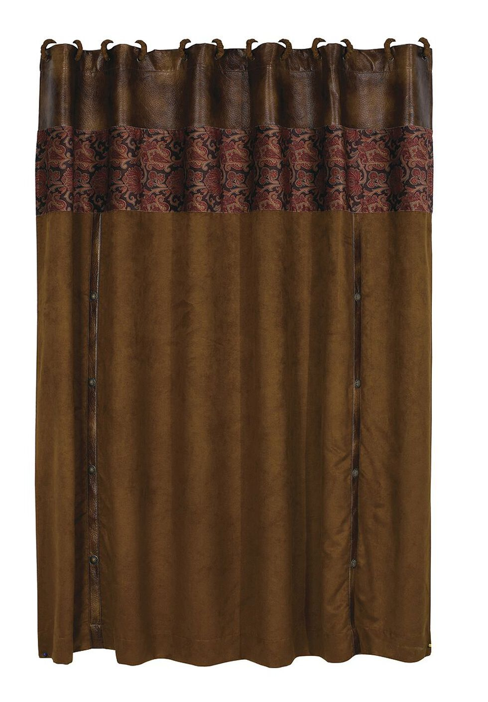 HiEnd Accents Austin Shower Curtain, Multi, hi-res