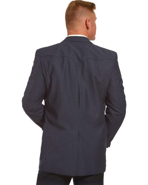 Circle S Men's Dallas Western Sports Coat, Navy, hi-res