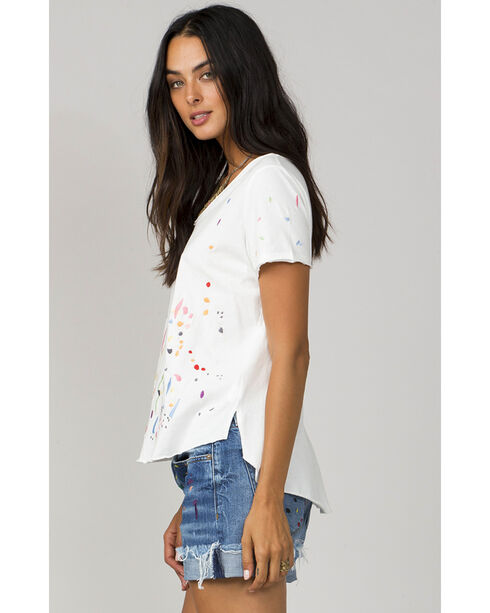 MM Vintage Women's White Let Loose Top, White, hi-res