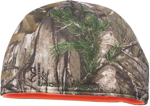 Under Armour Men's Camo Reversible Fleece Beanie Cap, Camouflage, hi-res