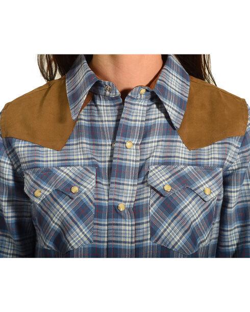 Tasha Polizzi Women's Indigo Warrior Shirt , Indigo, hi-res