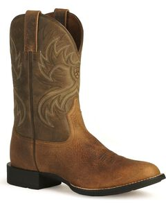 Ariat Heritage Horseman Cowboy Boots, , hi-res