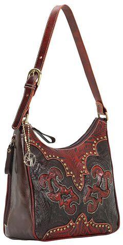 American West Annie's Secret Collection Concealed Carry Shoulder Bag, , hi-res