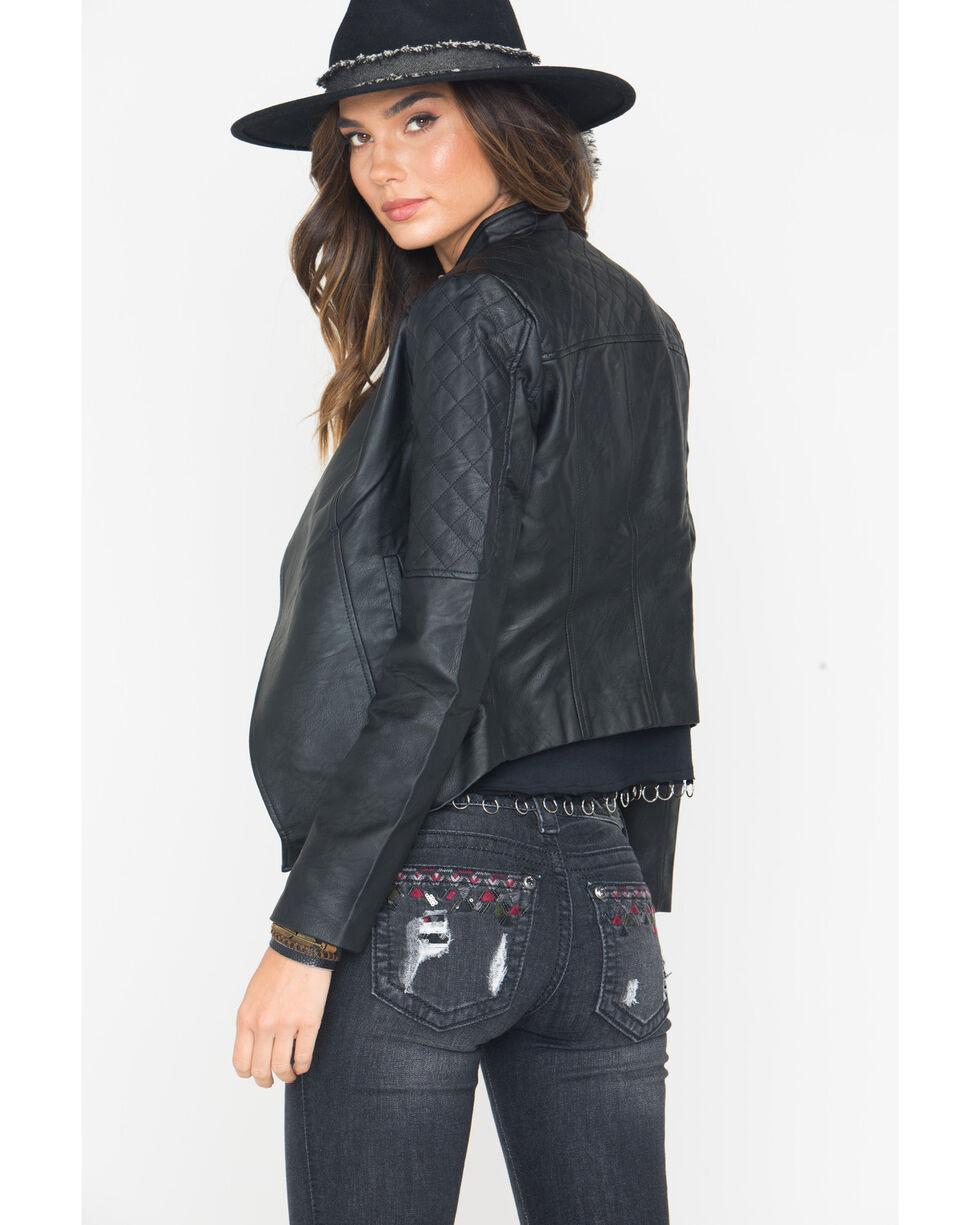 Jack Women's Black Leora Quilted Jacket , Black, hi-res