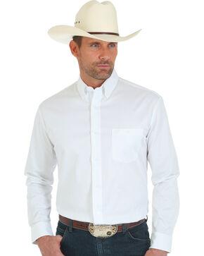 Wrangler 20X Advanced Comfort Men's White Button Shirt, White, hi-res
