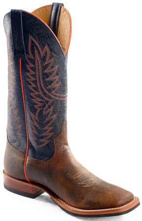 Anderson Bean Horse Power Toast Bison Western Boots - Square Toe, Toast, hi-res