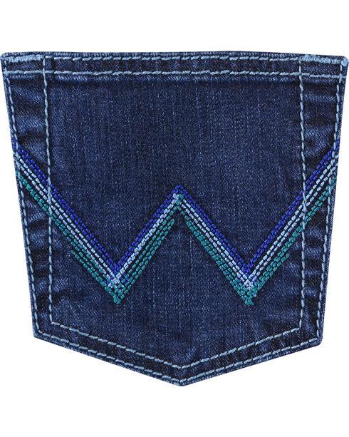 Wrangler Women's Indigo Q Baby Ultimate Riding Jeans - Boot Cut , Indigo, hi-res
