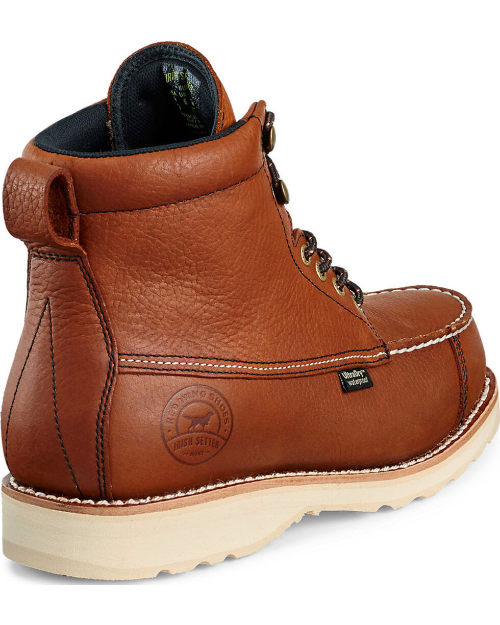 """Irish Setter by Red Wing Shoes Men's Wingshooter UltraDry 7"""" Work Boots , Light Brown, hi-res"""