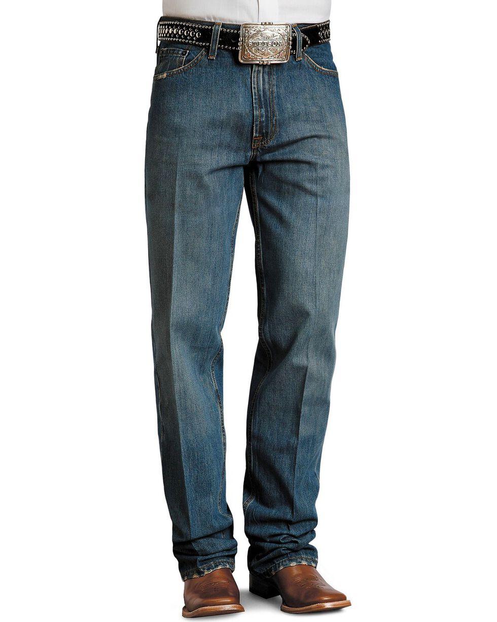 Stetson Standard Medium Stonewash Relaxed Fit Straight Leg Jeans - Big & Tall, , hi-res