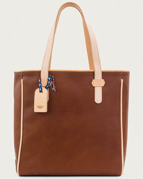 Consuela Women's Frida Virginia Classic Tote, Cognac, hi-res