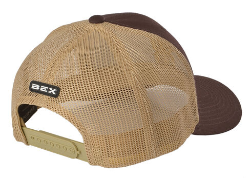 Bex Brown Khaki Mesh Cap, Brown, hi-res