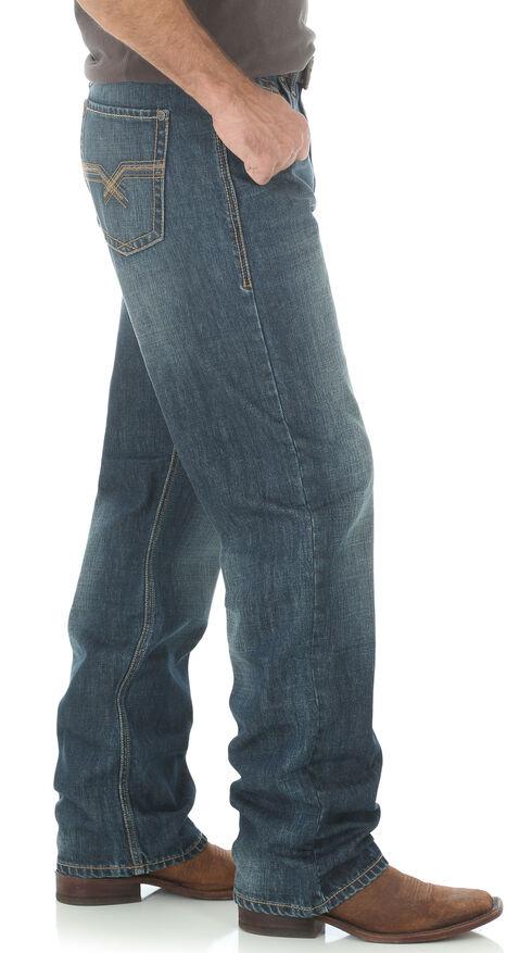 Wrangler 20X Men's Indigo No.33 Extreme Relaxed Fit Jeans - Straight Leg, Indigo, hi-res