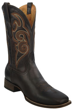 Corral Chocolate Brown Cowboy Boots - Square Toe , , hi-res