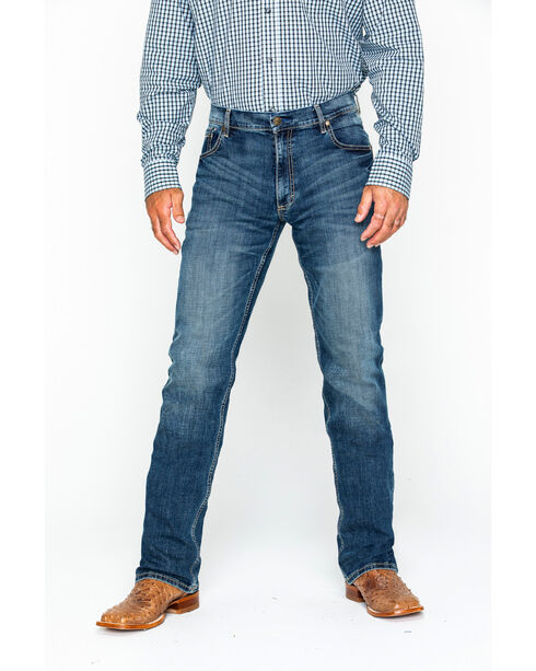 Wrangler Retro Layton Men's Slim Fit Jeans - Straight Leg , Denim, hi-res