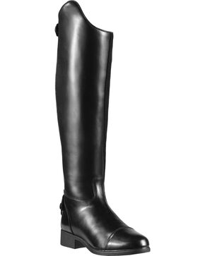 Ariat Women's Bromont Dress H2O Riding Boots, Black, hi-res