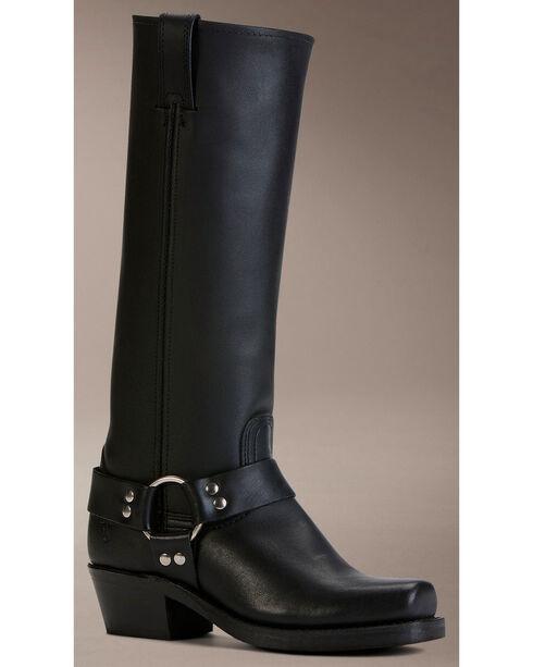 Frye Women's Harness 15R Boots - Square Toe, Black, hi-res