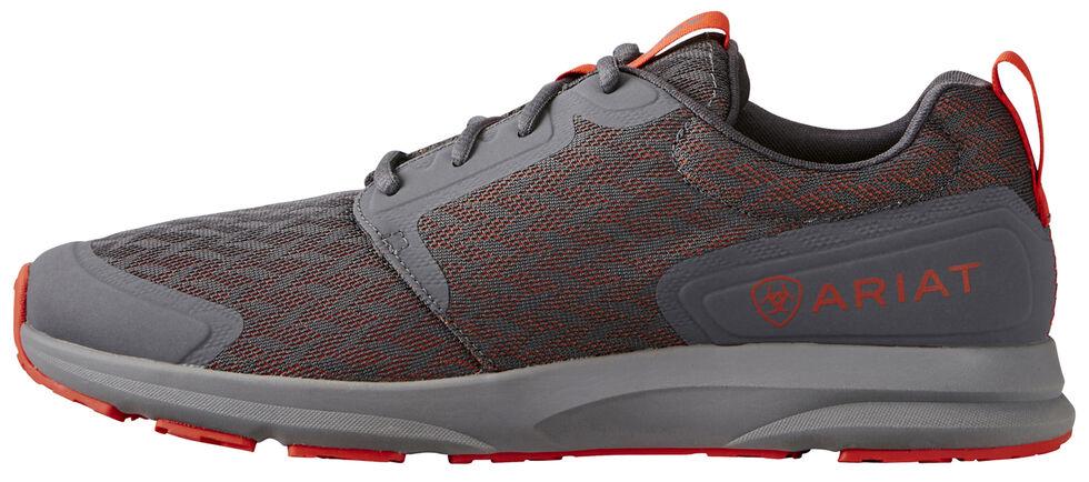 Ariat Men's Grey Fuse Shoes, Grey, hi-res
