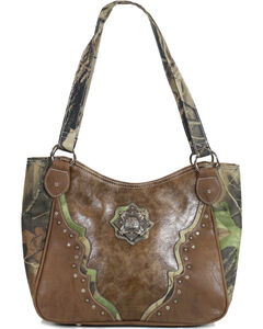 Way West Women's Camo Concealed Carry Handbag, Camouflage, hi-res