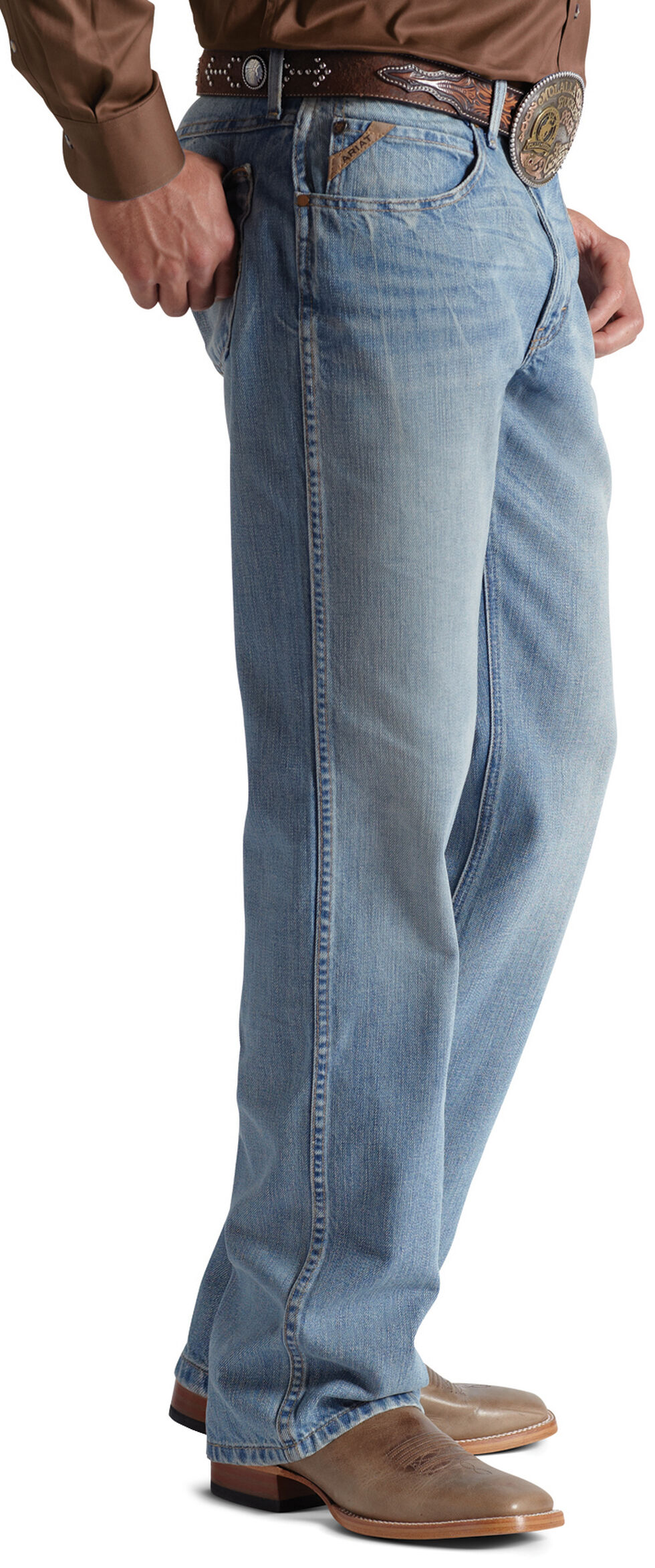Ariat Denim Jeans - M3 Quicksilver Loose Fit, Denim, hi-res