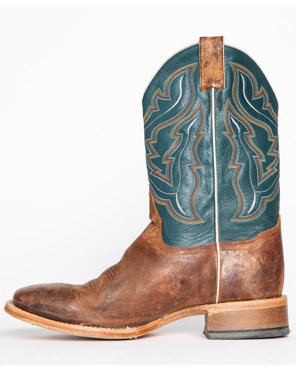 Cody James Men's Blue Cowboy Boots - Square Toe, Navy, hi-res