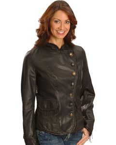 Scully Lambskin Leather Jacket, , hi-res