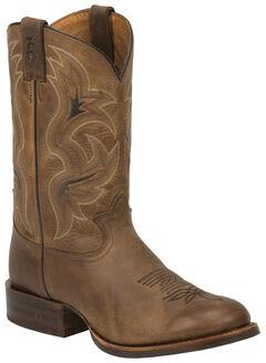 Tony Lama Tan Lockhart 3R Stockman Boots - Round Toe, , hi-res